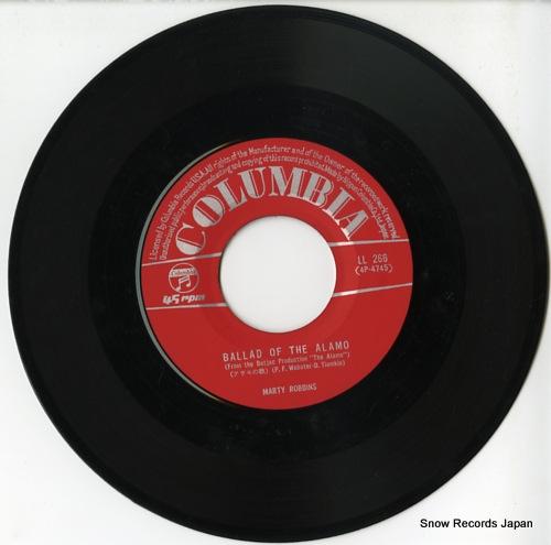 ROBBINS, MARTY ballad of the alamo LL-266 - disc