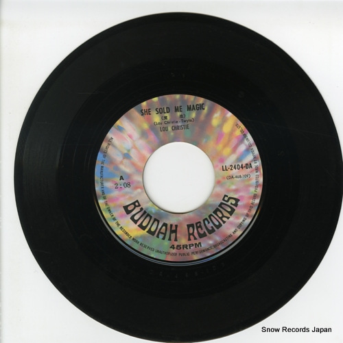CHRISTIE, LOU she sold me magic LL-2404-DA - disc