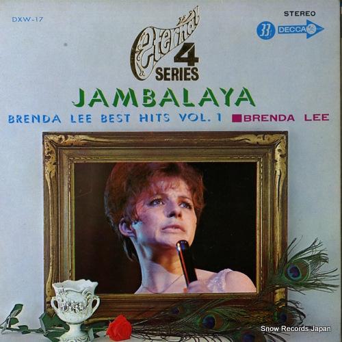 LEE, BRENDA brenda lee best hits vol.1 DXW-17 - front cover
