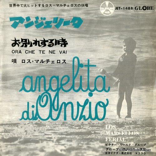LOS MARCELLOS FERIAL angelita di anzio JET-1488 - front cover