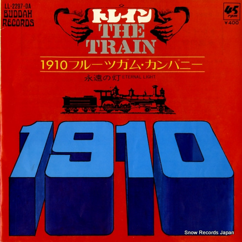 1910 FRUITGUM COMPANY the train LL-2297-DA - front cover