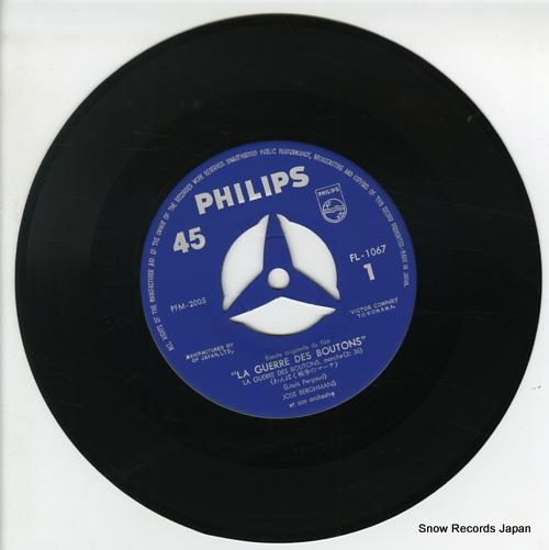 BERGHMANS, JOSE la guerre des boutons FL-1067 - disc