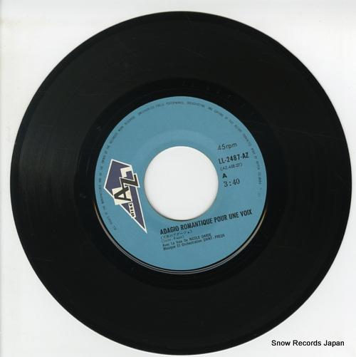SAINT PAREUX ORCHESTRA adagio romantique pour une voix LL-2487-AZ - disc