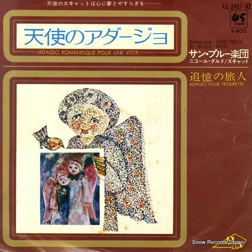 SAINT PAREUX ORCHESTRA adagio romantique pour une voix LL-2487-AZ - front cover