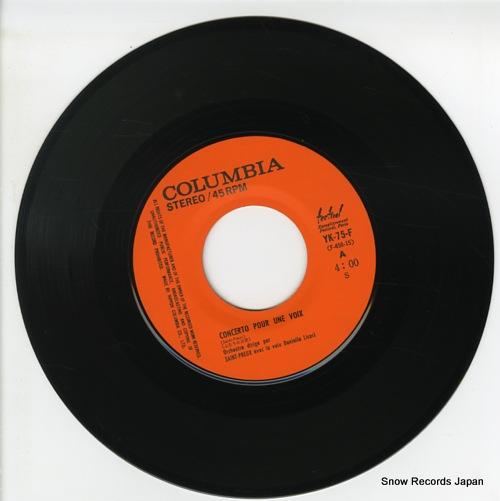 LICARI, DANIELLE concerto pour une voix YK-75-F - disc