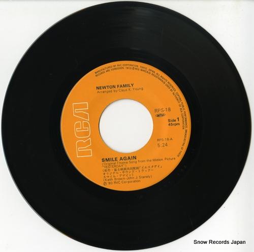 NEWTON FAMILY / CHARLES LINTON smile again RPS-18 - disc