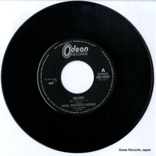 DANIEL SENTACRUZ ENSEMBLE soleado EOR-10668 - disc