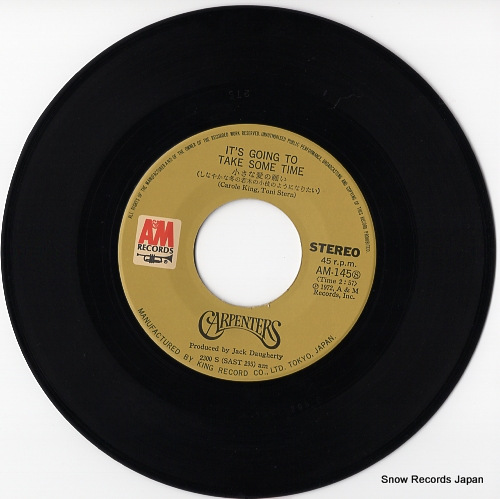CARPENTERS it's going to take some time AM-145 - disc