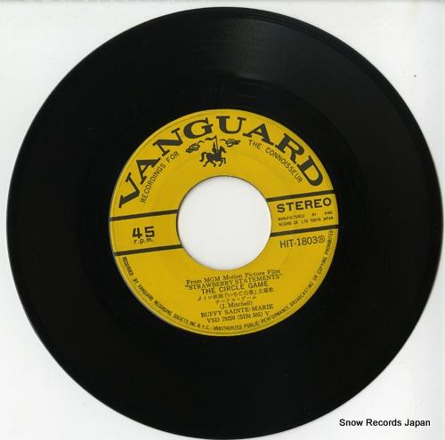 SAINTE-MARIE, BUFFY the circle game HIT-1803 - disc