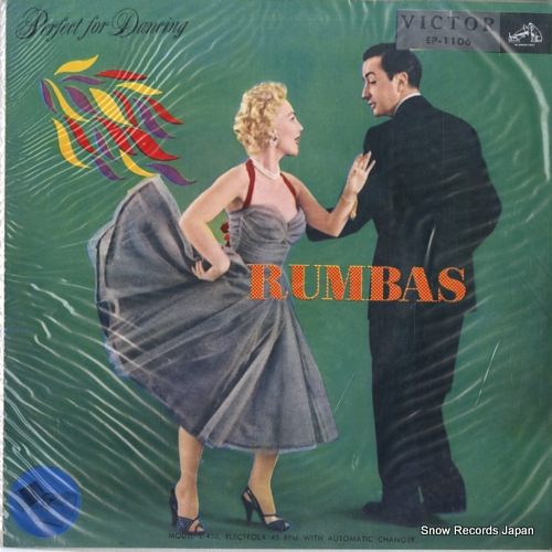 V/A perfect for dancing -rumbas EP-1106 - front cover