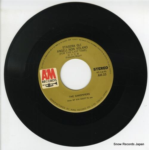 SANDPIPERS, THE stasera gli angeli non voland(for the last time) AM-33 - disc