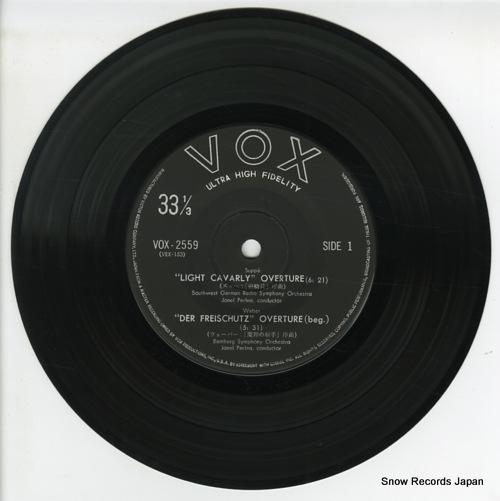 V/A famous overtures VOX-2559 - disc