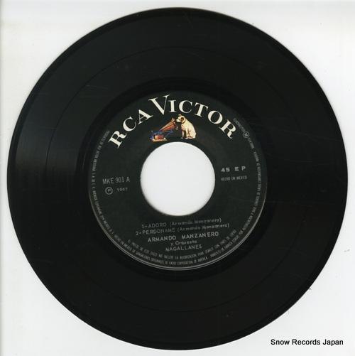 MANZANERO, ARMANDO adoro MKE-901 - disc