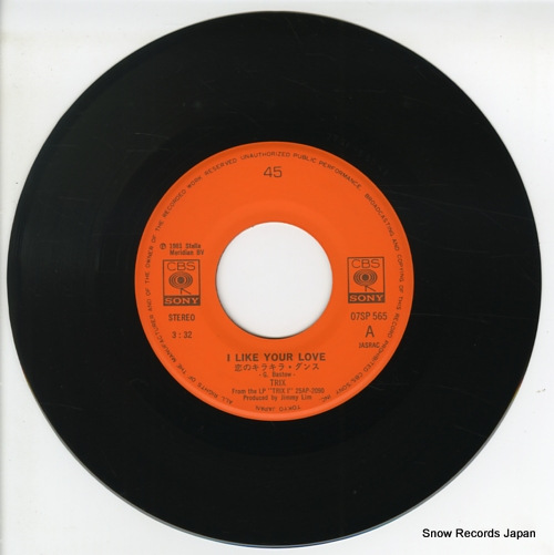 TRIX i like your love 07SP565 - disc