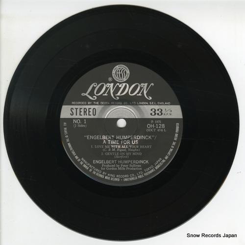 HUMPERDINCK, ENGELBERT a time for us OH128 - disc