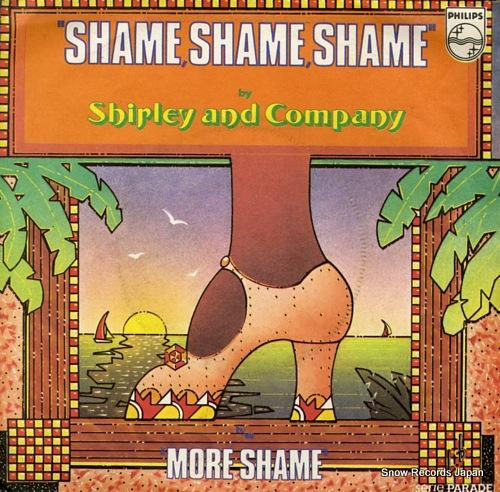 SHIRLEY AND COMPANY shame, shame, shame 6146400 - front cover
