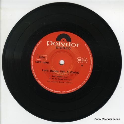GREGER, MAX let's dance vol.6(twist) SLKP-1070 - disc
