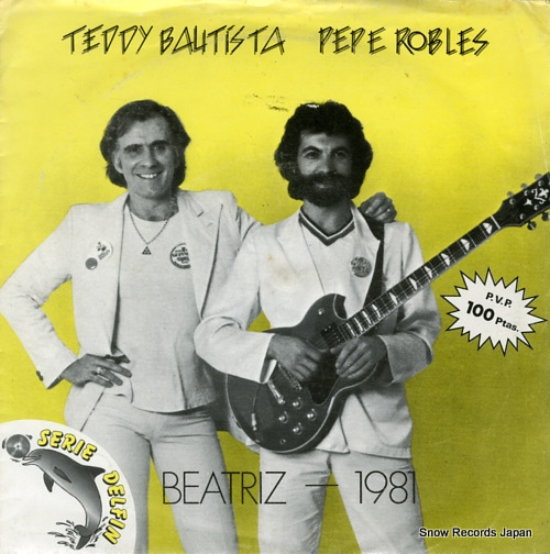 BAUTISTA, TEDDY, AND PEPE ROBLES beatriz B-102.599 - front cover