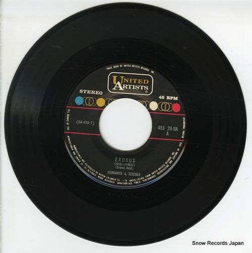 FERRANTE AND TEICHER exodus 45S-29-UA - disc