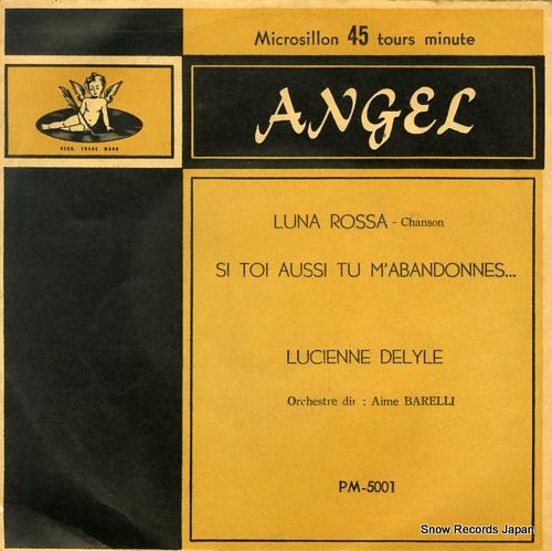 DELYLE, LUCIENNE luna rossa PM5001 - front cover