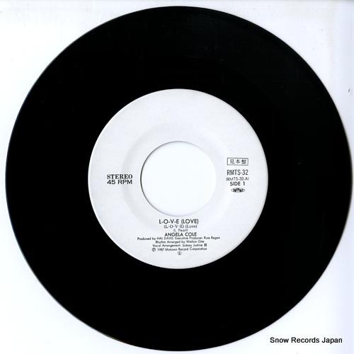 COLE, ANGELA l.o.v.e(love) RMTS-32 - disc