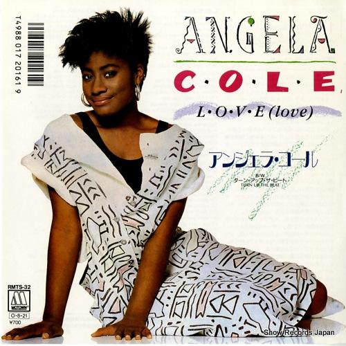 COLE, ANGELA l.o.v.e(love) RMTS-32 - front cover