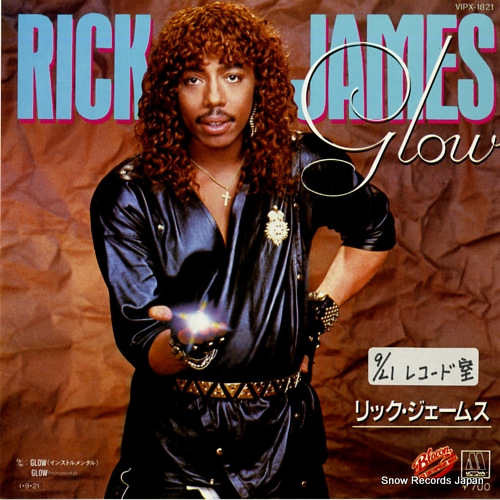 JAMES, RICK glow VIPX-1821 - front cover