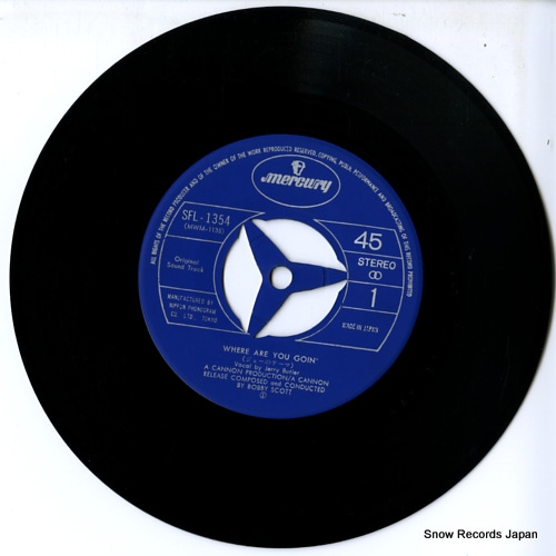 BUTLER, JERRY where are you goin' SFL-1354 - disc