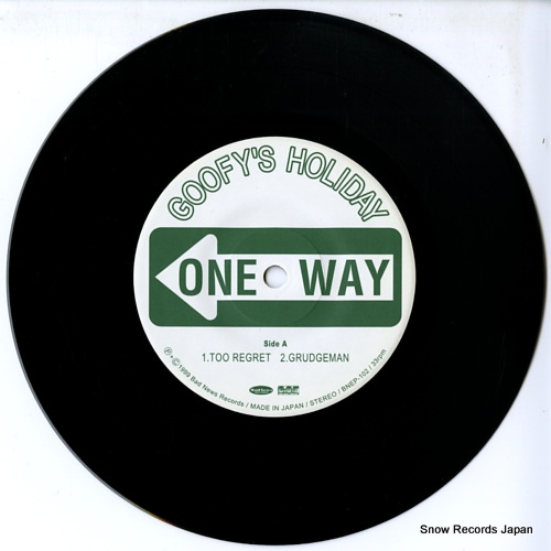 GOOFY'S HOLIDAY one way BNEP-102 - disc
