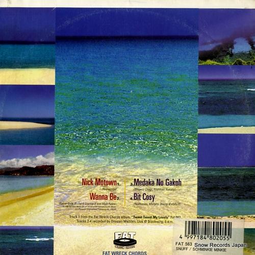 SNUFF scminkie minkie pinkie FAT563-7 - back cover