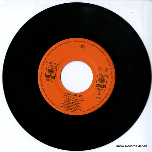 WHITE, MAURICE stand by me 07SP917 - disc