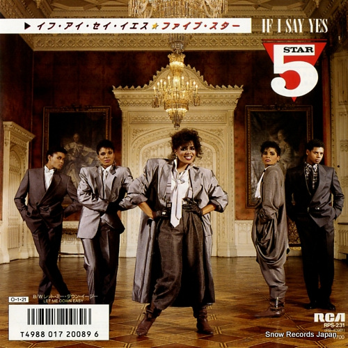 FIVE STAR if i say yes RPS-231 - front cover