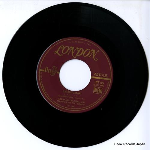 MONACO, MARIO DEL / MANTOVANI catari catari HIT-86 - disc