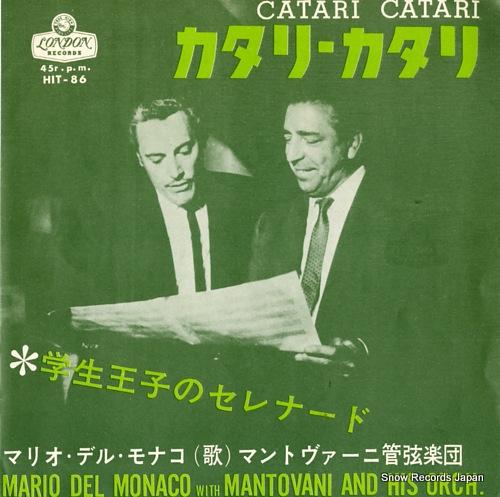 MONACO, MARIO DEL / MANTOVANI catari catari HIT-86 - front cover