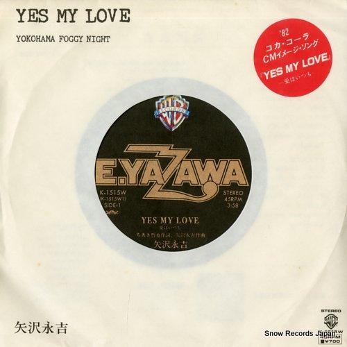 YAZAWA, EIKICHI yes my love K-1515W - front cover