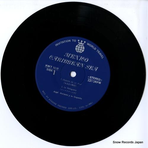 MARIPOSA, ANGEL historia de un amor KWT1019 - disc