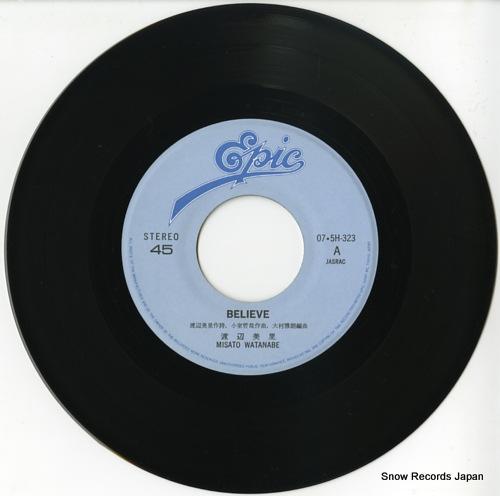 WATANABE, MISATO believe 07.5H-323 - disc