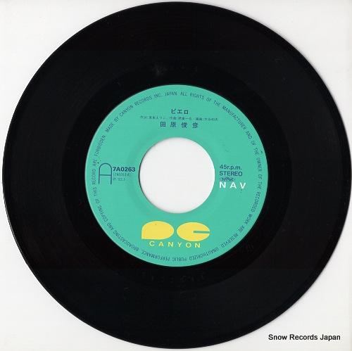TAHARA, TOSHIHIKO pierrot 7A0263 - disc