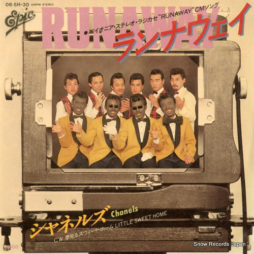 CHANELS runaway 06.5H-30 - front cover
