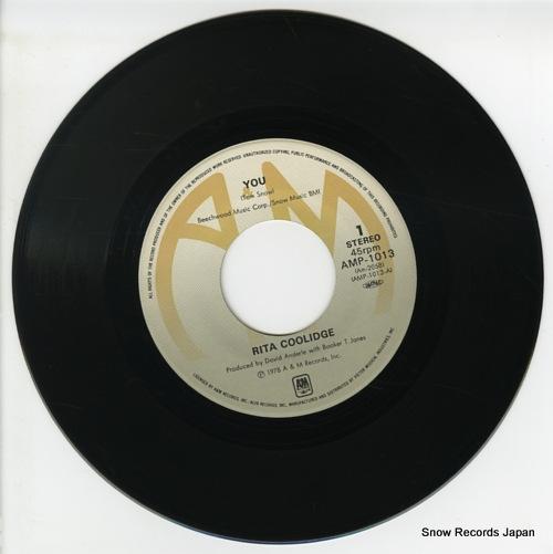 COOLIDGE, RITA you AMP-1013 - disc