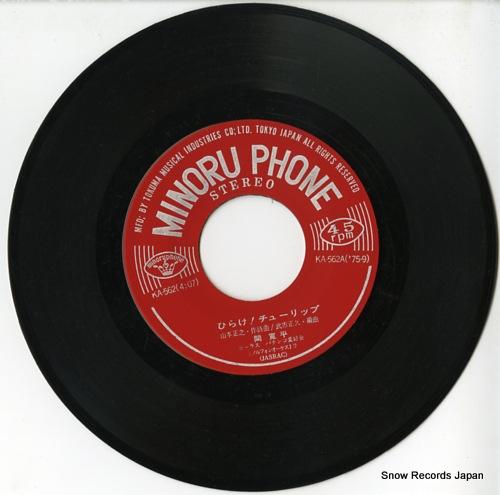 HAZAMA, KANPEI hirake tulip KA-562 - disc