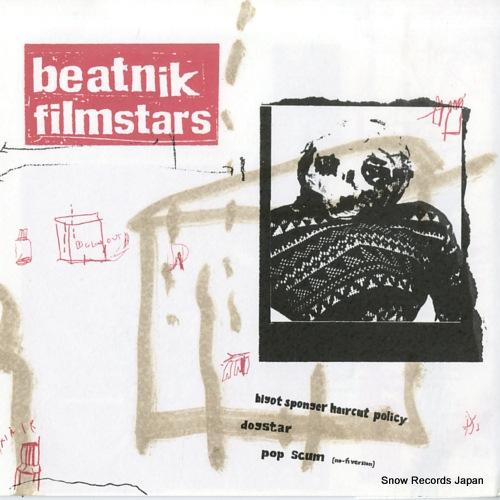 BEATNIK FILMSTARS bigot sponger haircut policy MOBSTAR001 - front cover