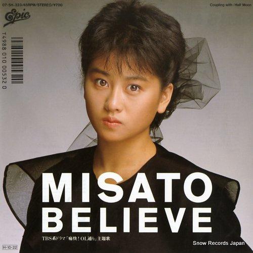 WATANABE, MISATO believe