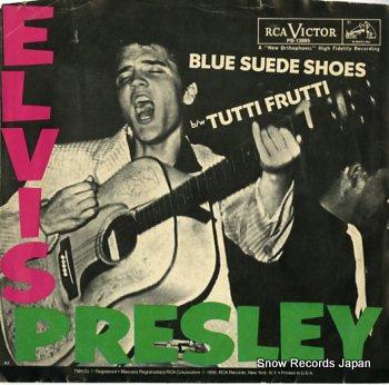 PRESLEY, ELVIS blue suede shoes