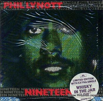LYNOTT, PHIL nineteen