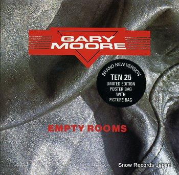 MOORE, GARY empty rooms