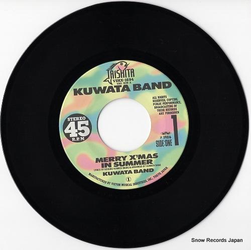 KUWATA BAND merry x'mas in summer VIHX-1694 - disc