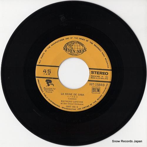 LEFEVRE, RAYMOND la reine de saba HIT-1584 - disc