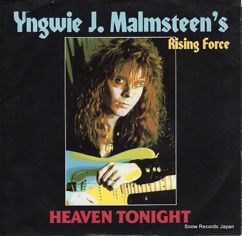 イングヴェイ・マルムスティーン / MALMSTEEN, YNGWIE J. - heaven tonight - 887518-7