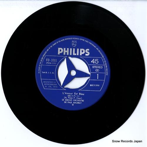 MAURIAT, PAUL l'amour est bleu FD-1001 - disc